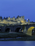 River Aude, Carcassonne, Languedoc, France