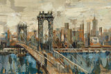 New York View Art Print