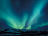 Northern Lights, Endicott Mountains in the Brooks Range, Alaska Photographic Print