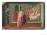 St. Cosmas and St. Damian Caring For a Patient, 15th century