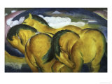 Little Yellow Horses, c.1912