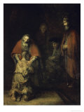 Buy Return of the Prodigal Son, c.1668-69 at AllPosters.com