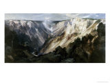 Grand Canyon at Yellowstone Giclee Print