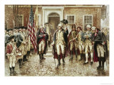 Washington's Farewell to His Officers Giclee Print