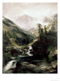 Mountain of the Holy Cross Giclee Print