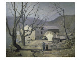 The Stone Mill in Bucks County, c.1909