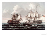 U.S.S. Constitution Defeating the H.M.S. Guerriere, War of 1812