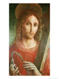 Jesus with Cross and Crown of Thorns Giclee Print