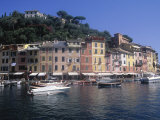 Buy Hillside Village by Harbor, Portofino, Italy at AllPosters.com