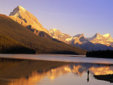 Fly-Fishing, Maligne Lake, Jasper National Park, Alberta, CA
