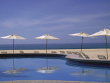 Pool and Umbrella, Cabo San Lucas, Mexico