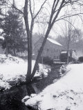 Sudbury Gristmill After Storm, MA