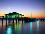 Fishing Pier at Sunrise, Fort de Soto Park, FL