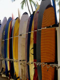 Surfboards, Waikiki Beach Oahu, Hawaii