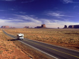 Camper on Highway #163, Monument Valley, AZ