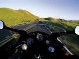 Motorcycle on Road, Marin County, CA