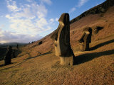 Buy Statues at Easter Island, Chile at AllPosters.com