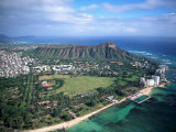 Waikiki Beach, Diamond Head, Hawaii