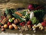 Assortment of Fruits, Vegetables & Nuts