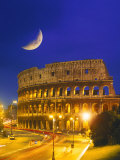 Buy Colosseum at Night, Rome, Italy at AllPosters.com