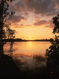 Sunset at Paurotis Pond, Everglades National Park, FL