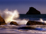 Harris Beach, Crashing Waves, Oregon