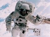 Astronaut Walking in Space
