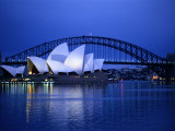Harbor and Sydney Opera House,