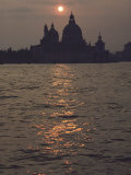 Buy The Low Sun Silhouettes Santa Maria Della Salute Church at AllPosters.com