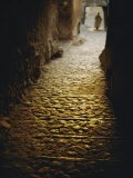Cobblestone Alley in Ghardaia