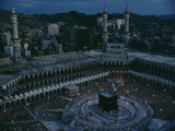 View of the Kaaba, Islams Holiest Shrine
