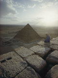 A View of the Pyramid of Chephren from the Pyramid of Giza