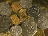 Gold and Silver Coins Minted in Both Spain and the Colonies