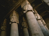 Towering Columns in the Luxor Temple Complex