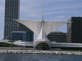 Exterior View of the Quadracci Pavilion at the Milwaukee Art Museum