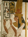 Nefertari Tomb Scenes, Valley of the Queens, Egypt