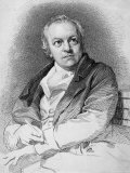 Etching Portraying the Poet and Artist William Blake