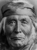 Portrait of Elderly Native American Navajo Man