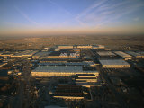 Aerial View of the Boeing Factory in Wichita