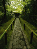 A Zen Path Leads to the Entrance to the Garden at Koto-In