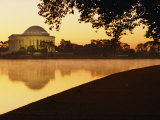 Twilight View of the Jefferson Memorial and the Tidal Basin