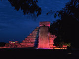 Night View of El Castillo