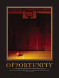 Opportunity Poster Print