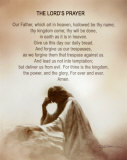 Lord's Prayer Art Print