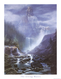 The Living Waters Art Print