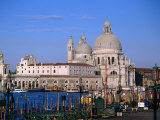 Santa Maria Della Salute, Situated Between Grand Canal and Canale Delle Zattere, Venice, Italy