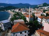 Town Buildings and Black Sea, Amasya, Turkey