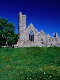 Quin Abbey Franciscan 15th Century Friary, County Clare, Ireland