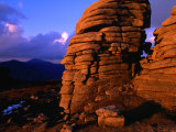 Summit Tor on Slieve Binnian, Mourne Mountains, Down, Northern Ireland