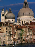 Santa Maria Della Salute with Apartment Buildings in Foreground, Venice, Italy